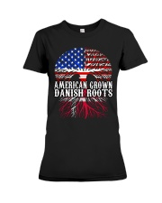 DANISH ROOTS T-SHIRT HOODIE TANK TOP Premium Fit Ladies Tee thumbnail
