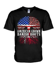 DANISH ROOTS T-SHIRT HOODIE TANK TOP V-Neck T-Shirt thumbnail