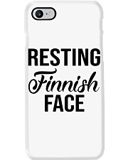 FINNISH FACE RESTING Phone Case thumbnail