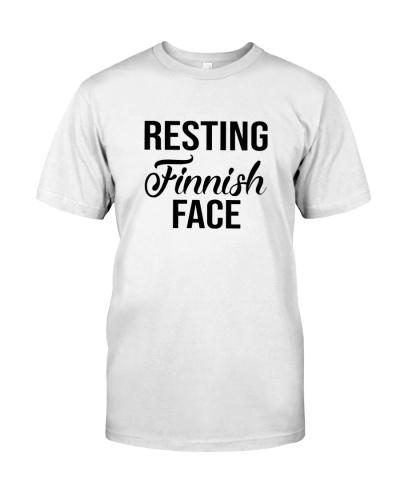 FINNISH FACE RESTING