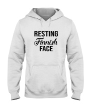 FINNISH FACE RESTING Hooded Sweatshirt thumbnail