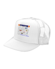 FINNISH FACE RESTING Trucker Hat left-angle