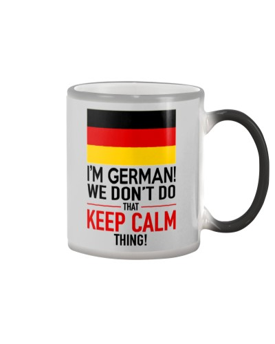 FUNNY GERMAN COFFEE MUG