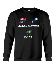 SWEDEN MOOSE Crewneck Sweatshirt thumbnail