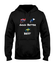 SWEDEN MOOSE Hooded Sweatshirt thumbnail