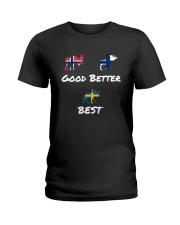 SWEDEN MOOSE Ladies T-Shirt thumbnail