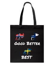 SWEDEN MOOSE Tote Bag thumbnail