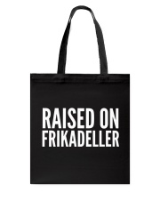 DENMARK RAISED ON FRIKADELLER  Tote Bag thumbnail
