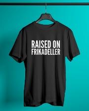 DENMARK RAISED ON FRIKADELLER  Classic T-Shirt lifestyle-mens-crewneck-front-3