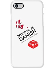 PROUD TO BE DANISH Phone Case tile