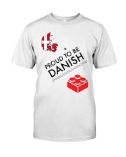 PROUD TO BE DANISH Classic T-Shirt thumbnail