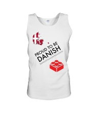 PROUD TO BE DANISH Unisex Tank thumbnail