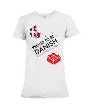 PROUD TO BE DANISH Premium Fit Ladies Tee thumbnail