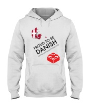 PROUD TO BE DANISH Hooded Sweatshirt tile