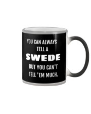 YOU CAN ALWAYS TELL A SWEDE Color Changing Mug thumbnail