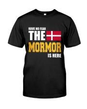 DENMARK MORMOR IS HERE Classic T-Shirt thumbnail