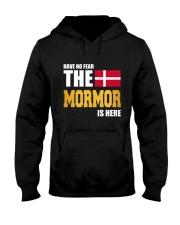 DENMARK MORMOR IS HERE Hooded Sweatshirt thumbnail