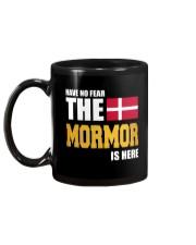 DENMARK MORMOR IS HERE Mug back