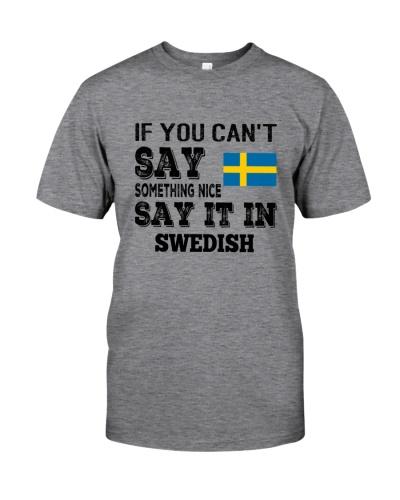 SWEDISH SAY IT IN