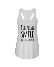 EXCLUSIVE FUNNY RARE SMILE Ladies Flowy Tank thumbnail