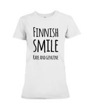 EXCLUSIVE FUNNY RARE SMILE Premium Fit Ladies Tee thumbnail