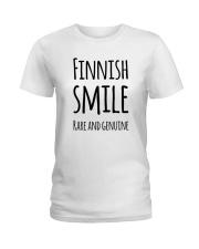 EXCLUSIVE FUNNY RARE SMILE Ladies T-Shirt thumbnail