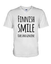 EXCLUSIVE FUNNY RARE SMILE V-Neck T-Shirt thumbnail