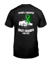 CEREBRAL PALSY FATHER DAUGHTER Classic T-Shirt back
