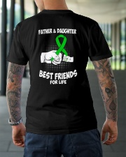 CEREBRAL PALSY FATHER DAUGHTER Classic T-Shirt lifestyle-mens-crewneck-back-3