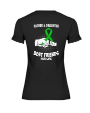 CEREBRAL PALSY FATHER DAUGHTER Premium Fit Ladies Tee thumbnail