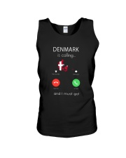 DENMARK IS CALLING Unisex Tank thumbnail