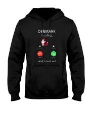 DENMARK IS CALLING Hooded Sweatshirt thumbnail