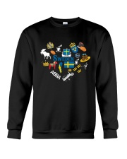 LOVE SWEDEN  NEW Crewneck Sweatshirt thumbnail
