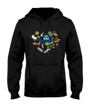 LOVE SWEDEN  NEW Hooded Sweatshirt thumbnail