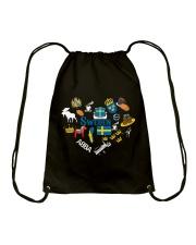 LOVE SWEDEN  NEW Drawstring Bag thumbnail