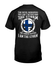 EXCLUSIVE I AM THE STORM Classic T-Shirt back