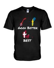 DANISH BEST V-Neck T-Shirt thumbnail