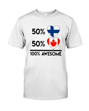 FINNISH CANADIAN AWESOME Classic T-Shirt thumbnail