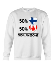 FINNISH CANADIAN AWESOME Crewneck Sweatshirt thumbnail