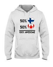 FINNISH CANADIAN AWESOME Hooded Sweatshirt thumbnail
