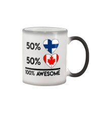 FINNISH CANADIAN AWESOME Color Changing Mug thumbnail