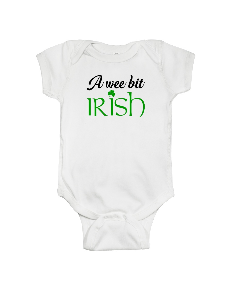 A WEE BIT IRISH Onesie