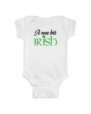A WEE BIT IRISH Onesie tile