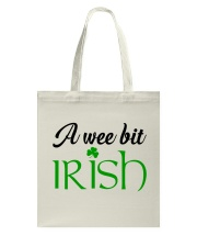 A WEE BIT IRISH Tote Bag thumbnail