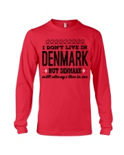 DENMARK WILL ALWASY LIVE IN ME Long Sleeve Tee front