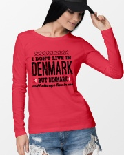 DENMARK WILL ALWASY LIVE IN ME Long Sleeve Tee lifestyle-unisex-longsleeve-front-4