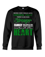 CEREBRAL PALSY  STRONGER FAMILY Crewneck Sweatshirt tile