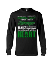 CEREBRAL PALSY  STRONGER FAMILY Long Sleeve Tee thumbnail