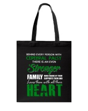 CEREBRAL PALSY  STRONGER FAMILY Tote Bag thumbnail