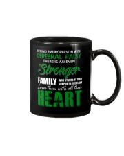 CEREBRAL PALSY  STRONGER FAMILY Mug tile